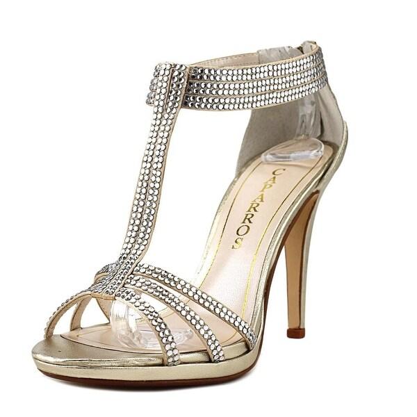 Caparros Maddy Women Platino Metallic Sandals