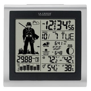 La Crosse Technology 308-1451H Digital Forecast Station With Hunter Icon