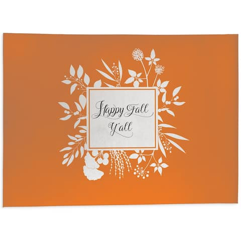 HAPPY FALL Outdoor Mat By Kavka Designs