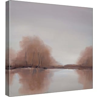 """PTM Images 9-99545  PTM Canvas Collection 12"""" x 12"""" - """"Morning Chill"""" Giclee Forests Art Print on Canvas"""