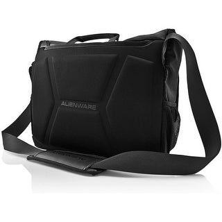 "Mobile Edge AWVM1417 Mobile Edge Alienware Vindicator Carrying Case (Messenger) for 17.1"" Notebook - Black - Weather"