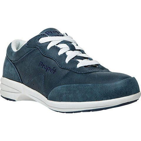 Propet Women's Washable Walker Royal Blue/White