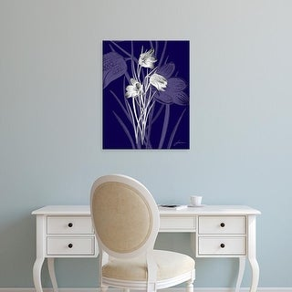 Easy Art Prints James Burghardt's 'Jewel Stems IV' Premium Canvas Art