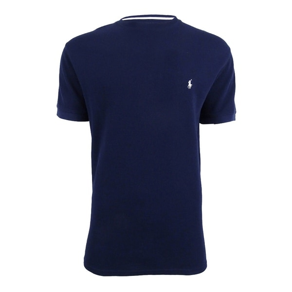 d0da4825cc Shop Polo Ralph Lauren Men's Short Sleeve Crew-Neck Thermal Shirt (L,  Cruise Navy) - cruise navy - l - Free Shipping On Orders Over $45 -  Overstock - ...