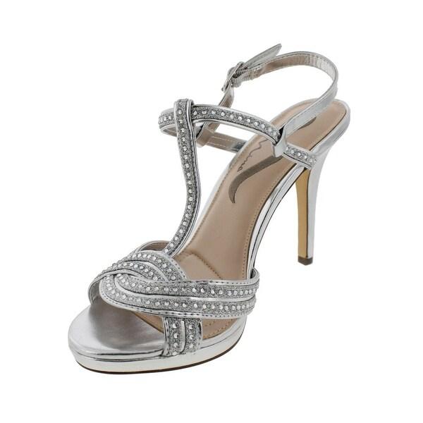Nina Womens Rynette Dress Sandals Open Toe Strappy - 7.5 medium (b,m)