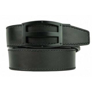 Nexbelt Full Grain Coal Ratchet Dress Golf Belt
