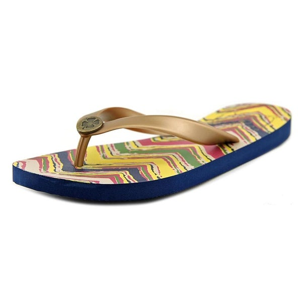 Lucky Brand Finne Open Toe Synthetic Thong Sandal