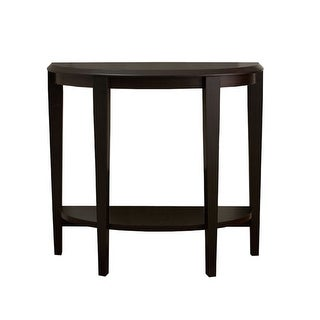 """Link to Offex Half - Moon Shape Accent Table  36""""L - Cappuccino Hall Console Similar Items in Living Room Furniture"""