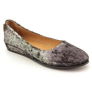FS/NY Zeppa Round Toe Leather Flats