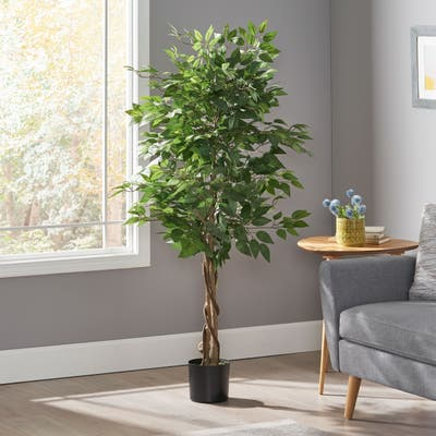 Harney Artificial Tabletop Ficus Tree by Christopher Knight Home