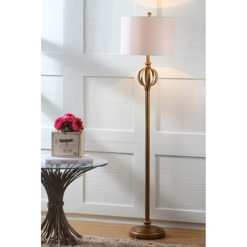 """SAFAVIEH Lighting 62-inch Garden Sphere Floor Lamp - 15""""x15""""x61.5"""""""