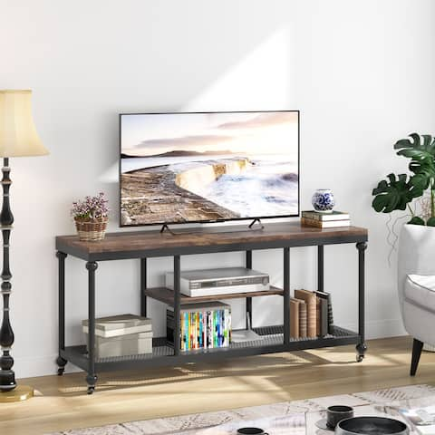 """60"""" TV Console Table Sofa Table with Shelf,TV Stand"""