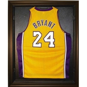 Basketball Jersey Deluxe Full Size Display Case Black