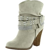 Not Rated Womens Double Dip Harness Fashion Boots