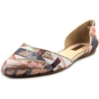 INC International Concepts Womens Crescente 6 Pointed Toe Slide Flats