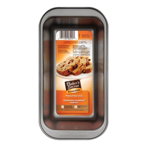 Shop Baker S Secret 1114434 Loaf Pan Medium Non Stick