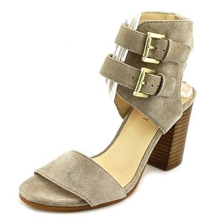 Nine West Galiceno Women Open Toe Suede Sandals