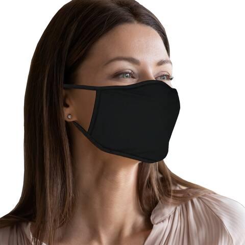 5-Pack Adult 100 Percent Cotton Cloth Face Masks