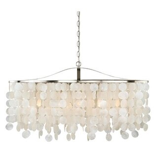 Vaxcel Lighting P0140 Elsa 5 Light Linear Chandelier