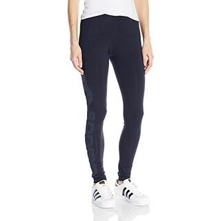 adidas Originals Women's Linear Leggings - Black/White