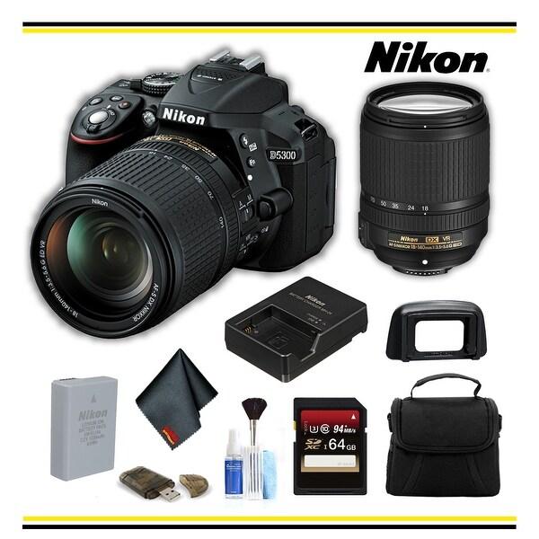 Shop Nikon D5300 DSLR Camera with 18-140mm Lens Bundle