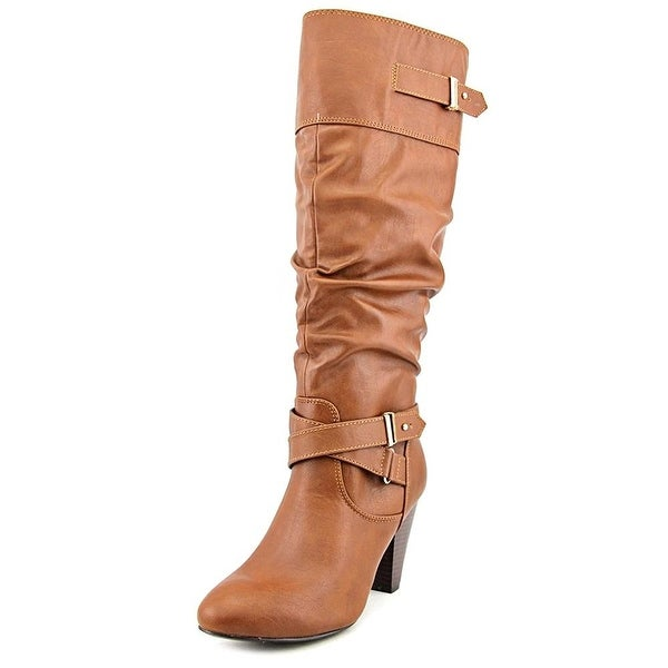 Rampage Womens Eliven Leather Closed Toe Mid-Calf Fashion Boots