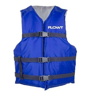 Waterbrands - 40201-2-Unv - All Purpose Life Vest Adult Bl