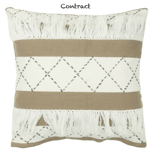 Enviohome Handmade Decorative Throw Pillow Shell or Pillow Covers