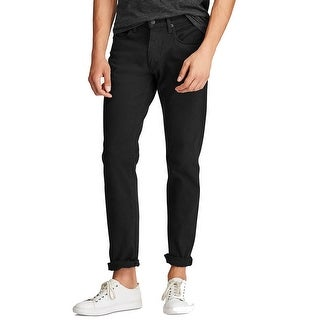 Link to Polo Ralph Lauren Men's Hampton Relaxed Straight Stretch Jeans Similar Items in Pants