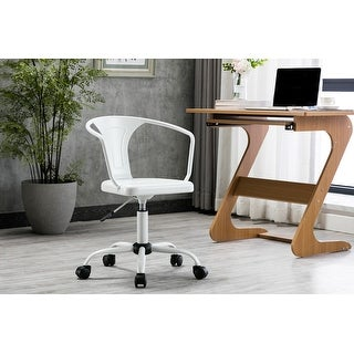 Link to Porthos Home Ingo Swivel Office Chair, Iron Seat, Back and Armrests Similar Items in Ergonomic Chairs