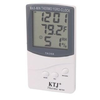 TA368 Plastic Indoor Outdoor LCD Display Digital Thermometer Hygrometer