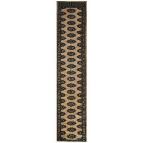 Handmade One-of-a-Kind 1940's Bokhara Wool Runner - 2'4 x 10'