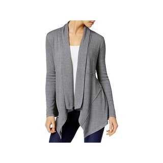 Calvin Klein Performance Womens Cardigan Drapey Open Front