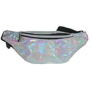 2 Moda Iridescent Fashion Waist Pack - One size