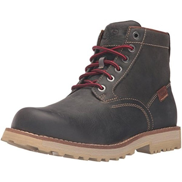 Keen Mens The 59 Leather Lace-Up Ankle Boots