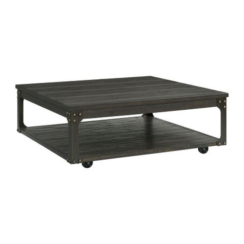 Picket House Furnishings Cera Square Coffee Table