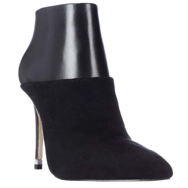 MICHAEL Michael Kors Freya Pointed Toe Dress Booties, Black