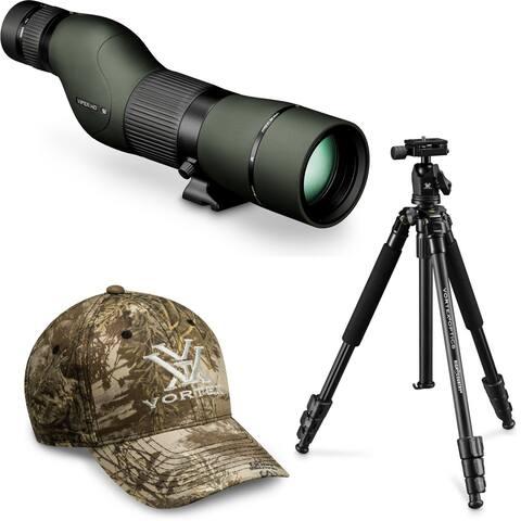 Vortex Viper HD 15-45x65 Spotting Scope (Straight) with Tripod and Hat