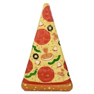 Inflatable 6 ft. Pizza Slice Pool Float - Multi