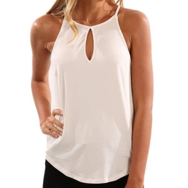 Women Summer Cotton Sleeveless Tops Tank CaRetro Printed T-Shirt Camisol Plus