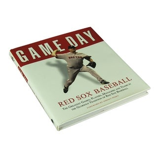 Athlon Sports Game Day Boston Red Sox Baseball Fan Reference Book 9 5 X 8 5 X 0 75 Inches