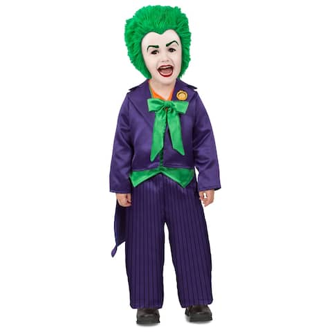 Toddler The Joker DC Comics Halloween Costume