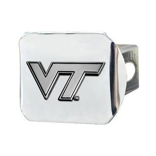 """Virginia Tech Hitch Cover 3.4""""x4"""""""