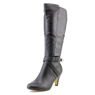 Bella Vita Tanner II Plus Women WW Round Toe Synthetic Knee High Boot