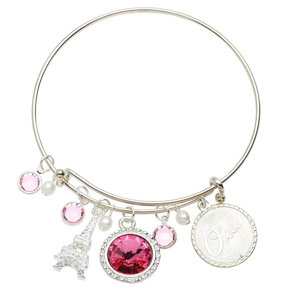 Parisian Deluxe Charm Bangle Bracelet - Exclusive Beadaholique Jewelry Kit