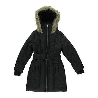 French Connection Girls Hooded Coat