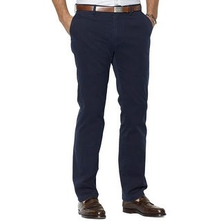 Polo Ralph Lauren The Preston Chinos Pants Navy Blue 36 x 34