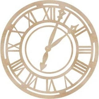 Kaisercraft 272367 Wood Flourishes-Roman Clock Face