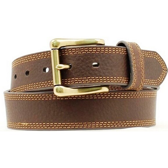 Nocona Western Belt Mens HD Extreme Basic Chocolate