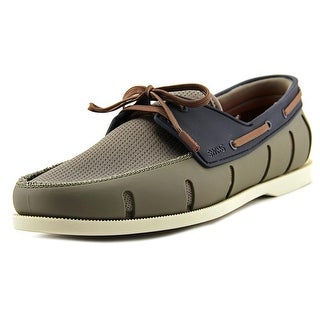 Swims Boat Loafer Moc Toe Synthetic Boat Shoe
